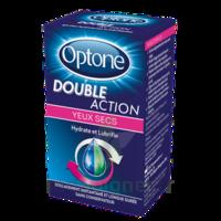 Optone Double Action Solution Oculaire Yeux Secs Fl/10ml à Tours