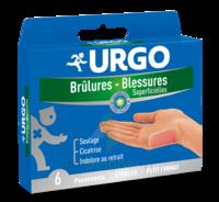 Urgo Brulures-blessures Petit Format X 6 à Tours