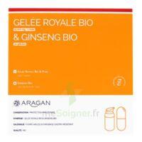 Aragan Gelée Royale & Ginseng Bio 15000 Mg Gelée + Comprimés Fl Pompe Airless/18g + Comprimés à Tours