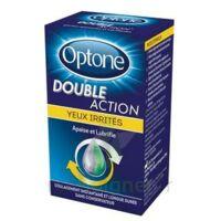 Optone Double Action Solution Oculaire Yeux Irrités Fl/10ml à Tours