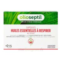 Olioseptil - Capsules Huiles Essentielles à Respirer - Nez Dégagé à Tours