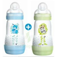 Mam Biberon Easy Start Anti-colique 260 Ml Lot De 2_ Bleu & Vert à Tours