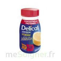 Delical Boisson Hp Hc Concentree Nutriment Vanille 4bouteilles/200ml à Tours