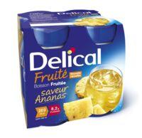 Delical Boisson Fruitee Nutriment Ananas 4bouteilles/200ml à Tours