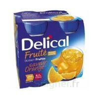 Delical Boisson Fruitee Nutriment Orange 4bouteilles/200ml à Tours