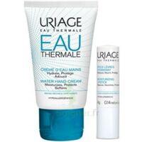 Uriage Eau Thermale Crème D'eau Mains T/30ml+stick Lèvres à Tours