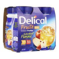 Delical Boisson Fruitee Nutriment Pomme 4bouteilles/200ml à Tours