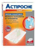 Actipoche Patch Chauffant Douleurs Musculaires B/2 à Tours