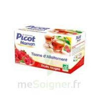 Picot Maman Tisane D'allaitement Fruits Rouges 20 Sachets à Tours