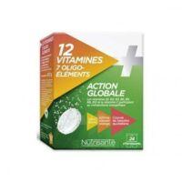 Nutrisanté 12 Vitamines+7 Oligo-éléments Comprimés Effervescents 2*t/12 à Tours