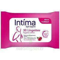 Intima Gyn'expert Lingettes Cranberry Paquet/30 à Tours