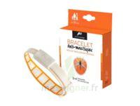 Pharmavoyage Bracelet Répulsif Origine Végétale Anti-moustique Orange à Tours