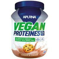 Apurna Vegan Proteines Poudre Cookies & Cream B/660g à Tours