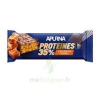 Apurna Barre Hyperprotéinée Crunchy Caramel 45g à Tours