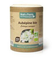 Nat&form Eco Responsable Aubépine Bio Gélules B/200 à Tours