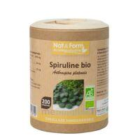 Nat&form Eco Responsable Spiruline Bio Comprimés B/200 à Tours