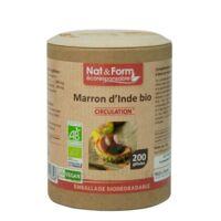 Nat&form Eco Responsable Marron D'inde Bio Gélules B/200 à Tours