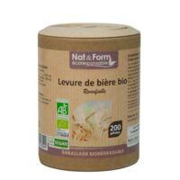 Nat&form Eco Responsable Levure De Bière Bio Gélules B/200 à Tours