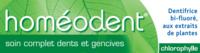 Boiron Homéodent Soin Complet Dents Et Gencives Pâte Dentifrice Chlorophylle 2t/75ml à Tours