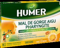 Humer Pharyngite Pastille Mal De Gorge Miel Citron B/20 à Tours